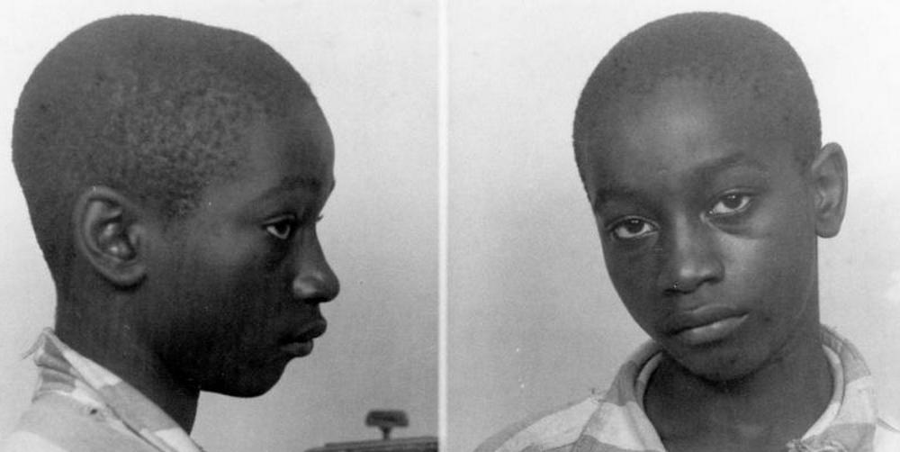 George Stinney Jr., lors de son arrestation en caroline du Sud en 1944. (SIPA)