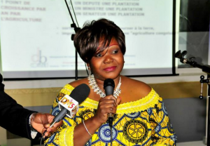 Agnès Ounounou, présidente de la Diaspora Congo Brazzaville (DCB)|Ph © Bavon