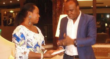 L'artiste musicien Asalfo donne un coup de pouce à la Fondation Congo Assistance