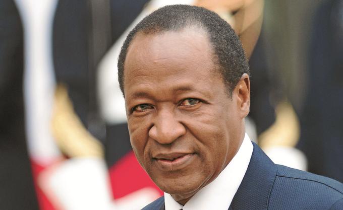 Blaise Compaore, ancien Président du Burkina Faso