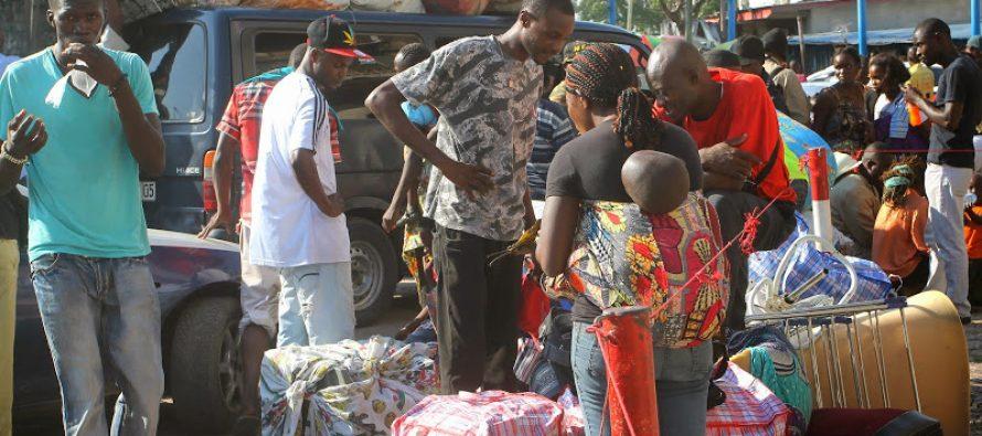 RDC : 93 expulsés de Brazzaville accueillis au Beach Ngobila
