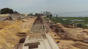 Brazzaville-Route de la corniche