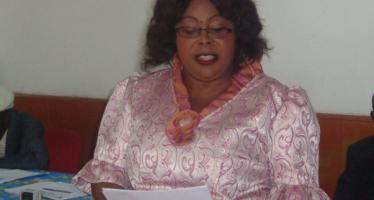 Nzango : Brigitte Vilakanda aux commandes de la ligue de Brazzaville