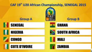 CAN U20 du 8 au 22 mars au Sénégal