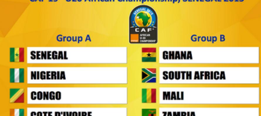 Football: les groupes des CAN 2015 U17 et U20