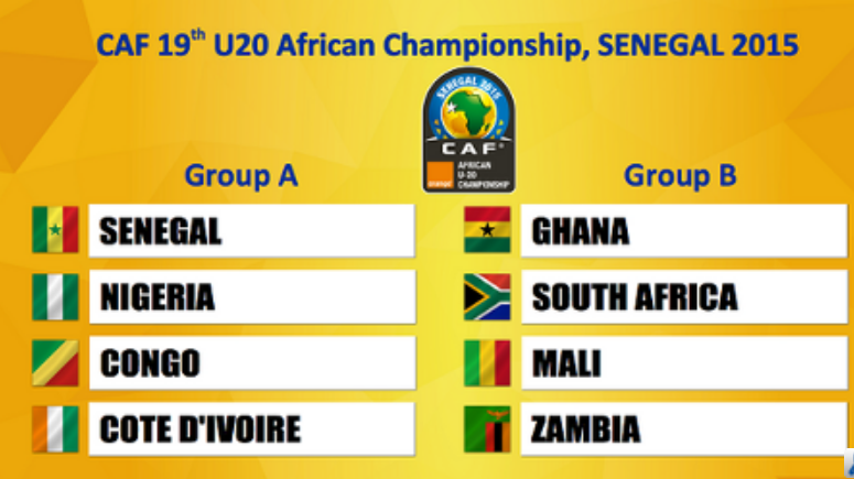 CAN U20 du 8 au 22 mars au Sénégal