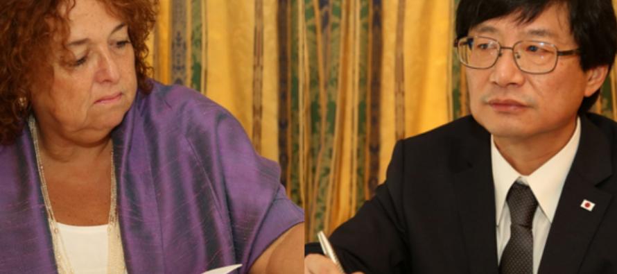 Congo: Les nouveaux ambassadeurs du Canada et du Japon présentent leurs lettres de créance au chef de l'Etat congolais