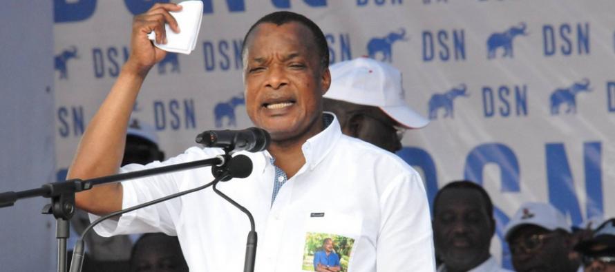 Présidentielle au Congo: Sassou axe sa campagne autour du «chômage des jeunes»