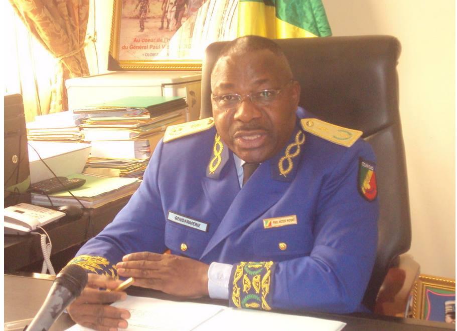 Le Commandant de la gendarmerie du Congo