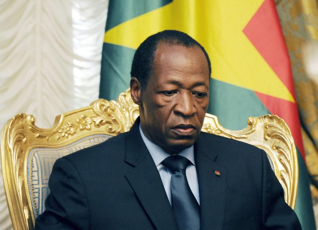 L'ex-président du Burkina Faso Blaise Compaore