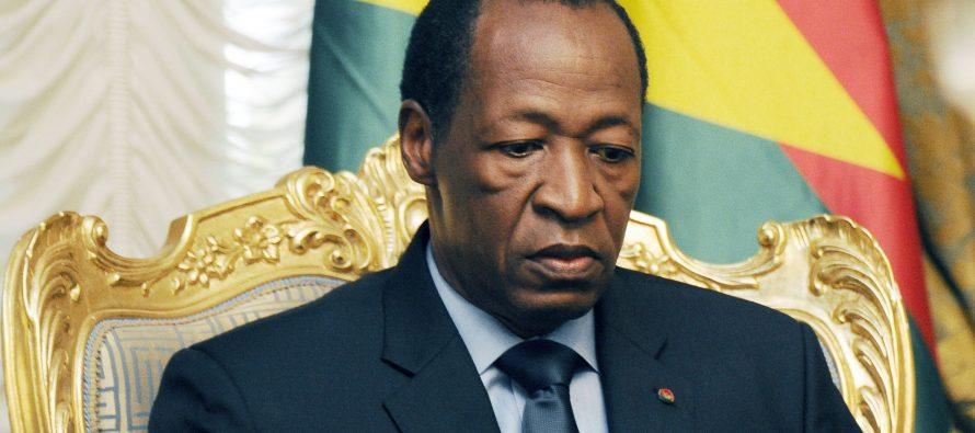 Burkina: l'ex-président Compaoré mis en accusation pour haute trahison