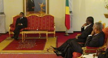 Congo: trois ambassadeurs présentent leurs lettres de créance au chef de l'Etat congolais