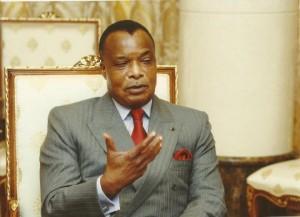 Le président Sassou Ngeusso