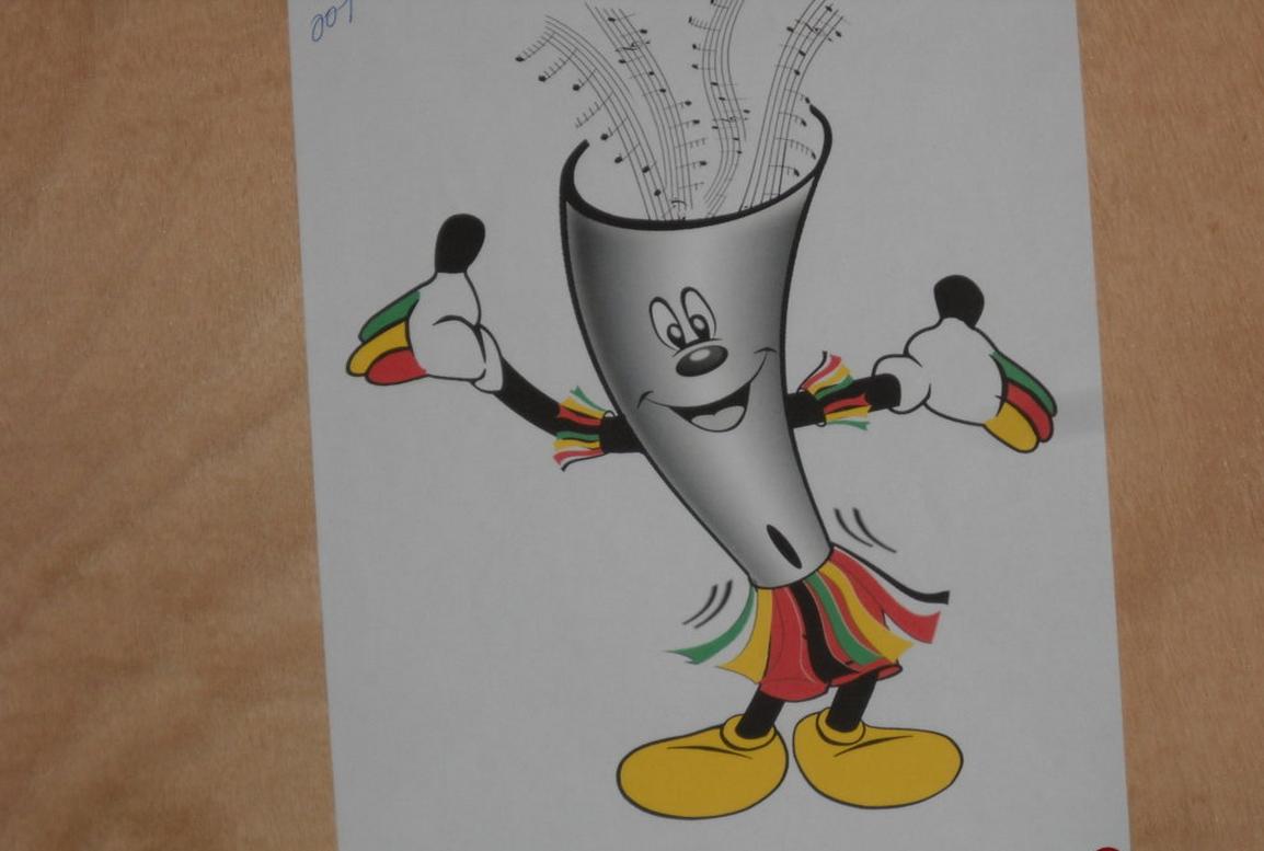La mascotte de la dixième édition du fespam 2015|Adiac-congo