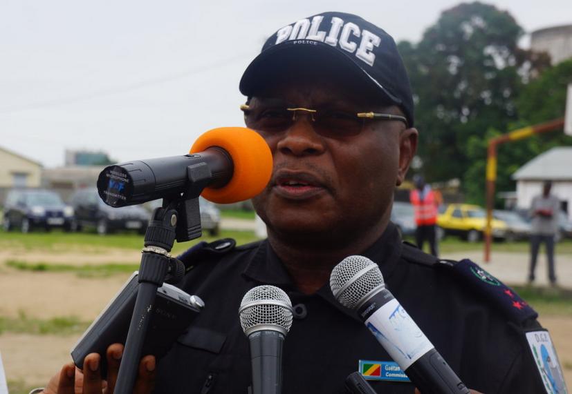 Gaêtan Victor Oborabassi, directeur départemental de la police au Kouilou et à Pointe-Noire