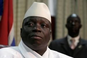 Le président Yahya Jammeh