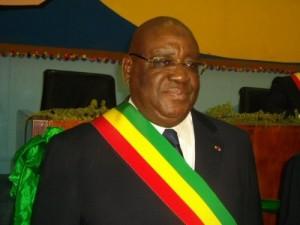 Justin Koumba, Président de l'Assemblée nationale congolaise