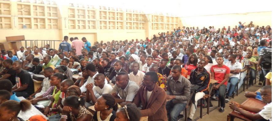 Brazzaville-Université Marien Ngouabi : trop d'étudiants en 1ère année de Faculté de droit !