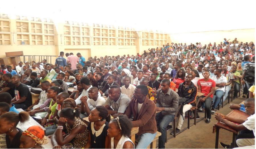 Des étudiants de la faculté de droit|Adiac-congo