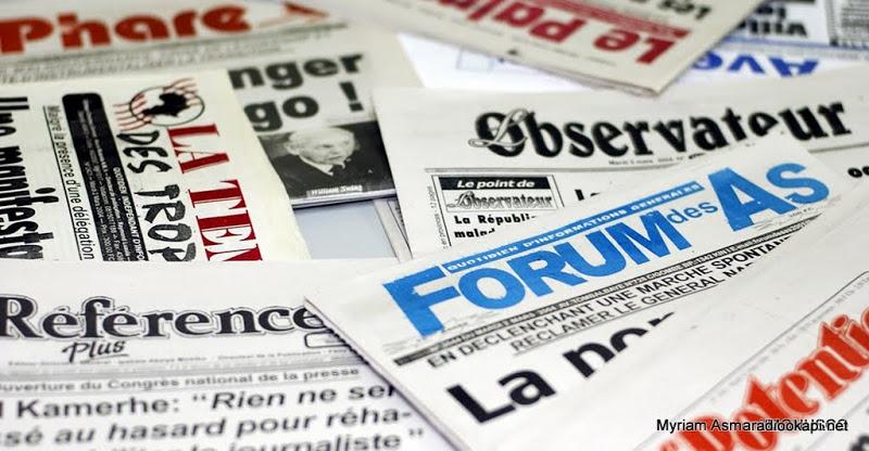 Les quotidiens et journaux de la presse en RDC