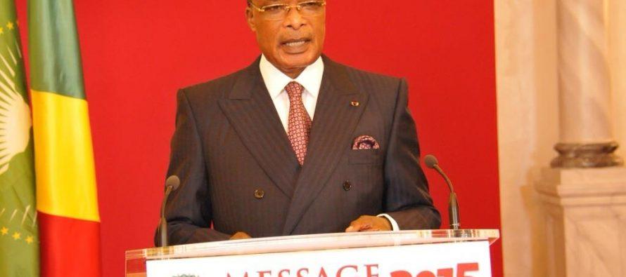 Congo: Message de voeux du nouvel an 2015 du chef de l'Etat au peuple congolais