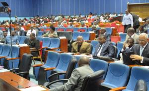 Les députés en plénière