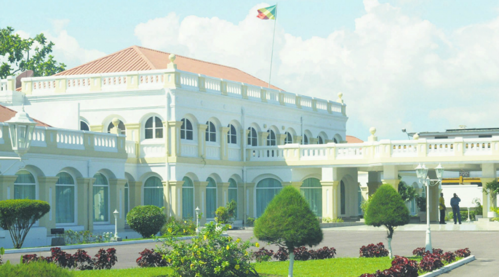 Palais du peuple Congo Brazzaville