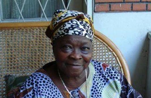 Pauline Lumumba, la veuve de Patrice Lumumba