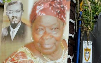 53 ans après la mort de son mari: Pauline Opango, veuve de Patrice Lumumba, enterrée à Kinshasa