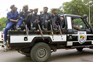 Les policiers congolais