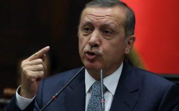 Le président turc Erdogan demande aux Européens de «se mêler de leurs affaires»