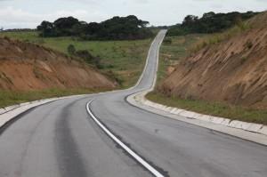Route Okoyo-Lékéty frontière du Gabon