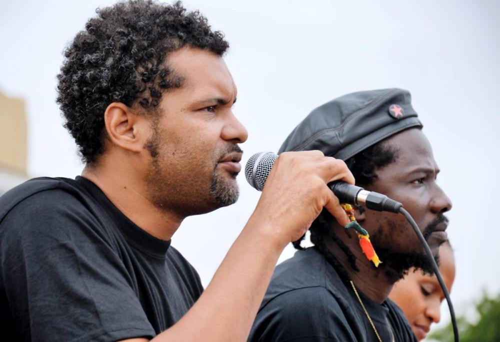 Sams'k Le Jah et Smockey, 43 ans, musiciens militants