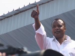 Le président Denis Sassou-Nguesso