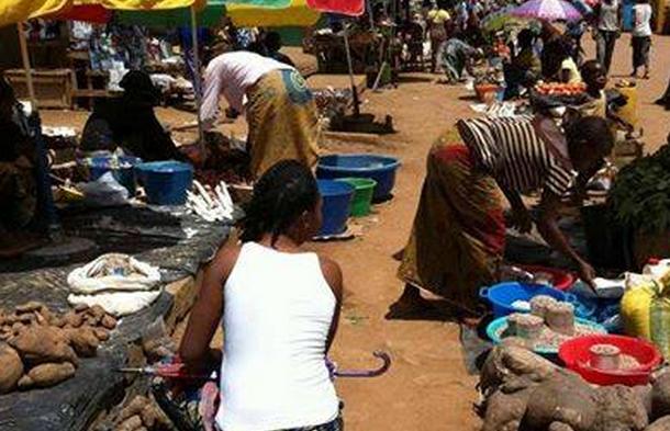 Image d'archive|Les conditions de vente des produits alimentaires à Brazzaville, prend des proportions inquiétantes.
