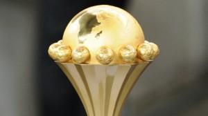 Le trophée remis au vainqueur de la Coupe d'Afrique des nations