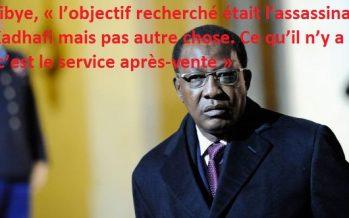 Le Président tchadien Idriss Déby : «L'objectif de l'OTAN était d'assassiner Kadhafi»