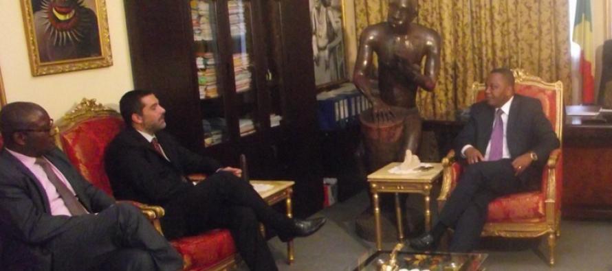 Coopération : Miss Fespam et le DG d'Eni Congo chez Jean Claude Gakosso