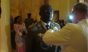 le général Guy Blanchard Okoï