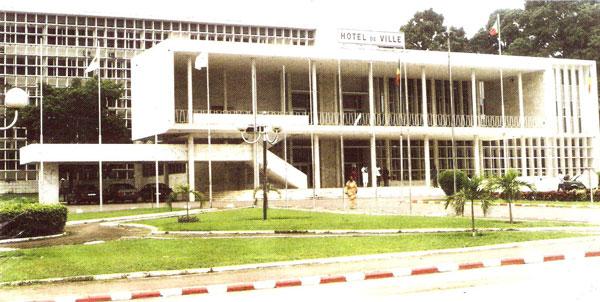 La mairie de Brazzaville