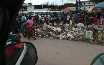 Brazzaville-Salubrité publique: triste spectacle au marché Total de Bacongo