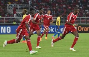 L'équipe du Congo a la CAN 2015