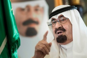 Le roi Abdallah, souverain d'Arabie Saoudite.