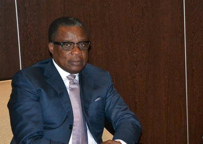 le ministre des Zones économiques spéciales (ZES), Alain Akouala Atipault