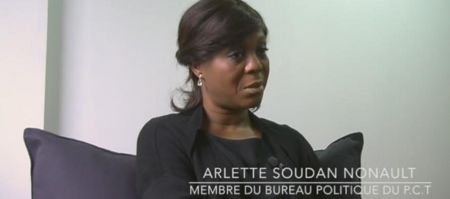 VIDÉO – Arlette Soudan Nonault: «Seul le peuple souverain décidera pour une nouvelle constitution.»