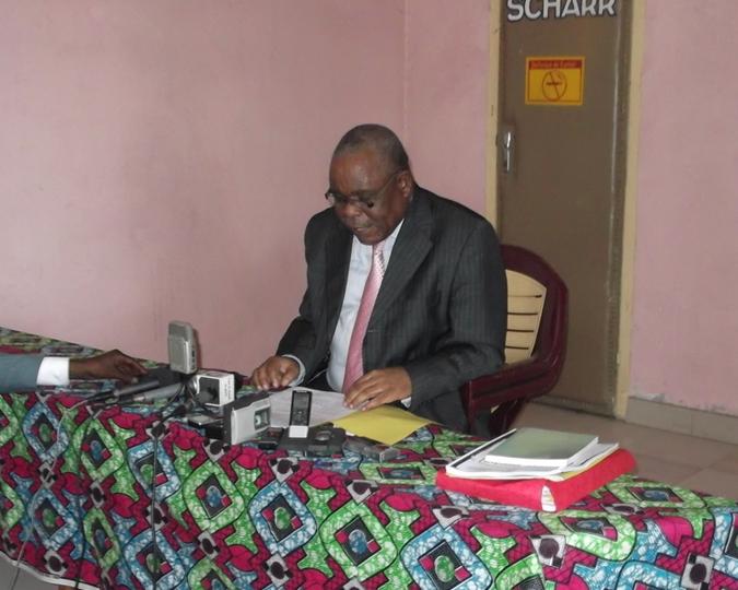 Le président du Parti social-démocrate congolais Clément Mierassa