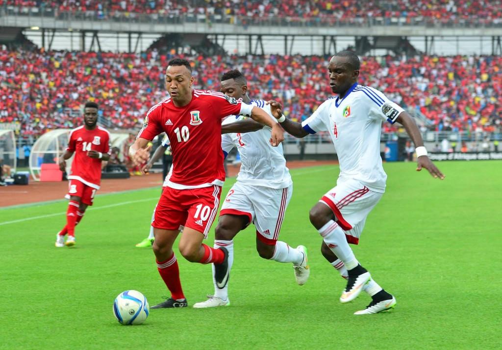 Match nul 1-1 entre la Guinée Equatoriale et le Congo pour le match d'ouverture de la Coupe d'Afrique des Nations 2015.