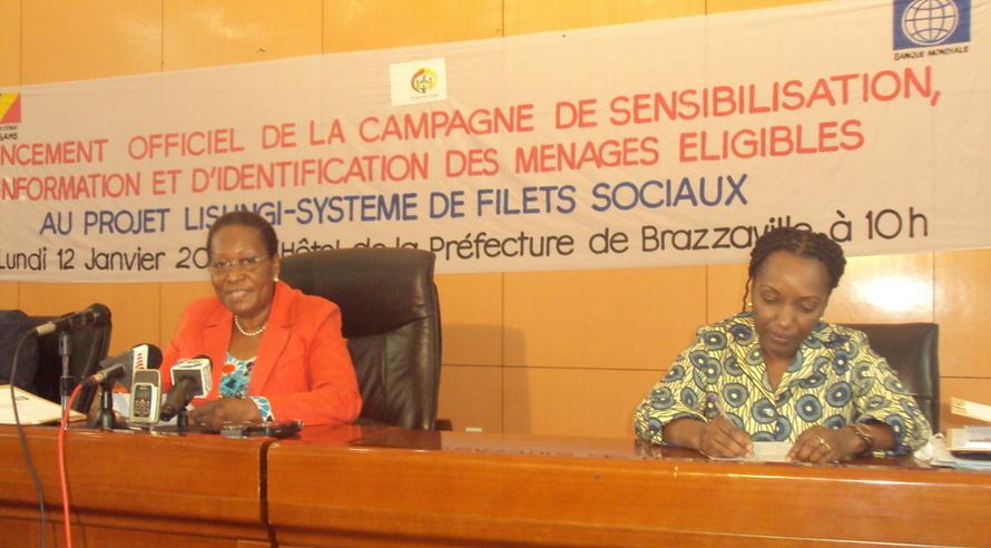 La ministre des Affaires sociales, de l'Action humanitaire et de la Solidarité, Emilienne Raoul