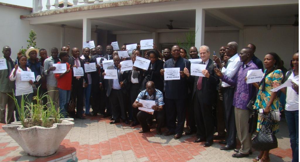 La presse congolaise rend hommage à Charlie Hebdo