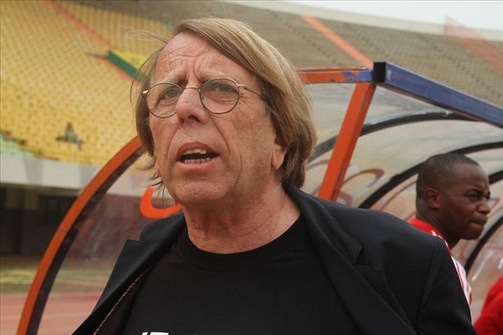L'entraîneur du Congo Claude Le Roy